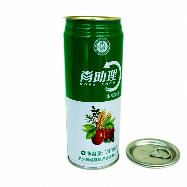 250ml drink tin can