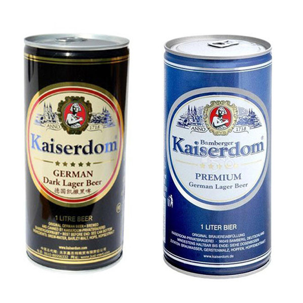 Beer tin can 1000ml