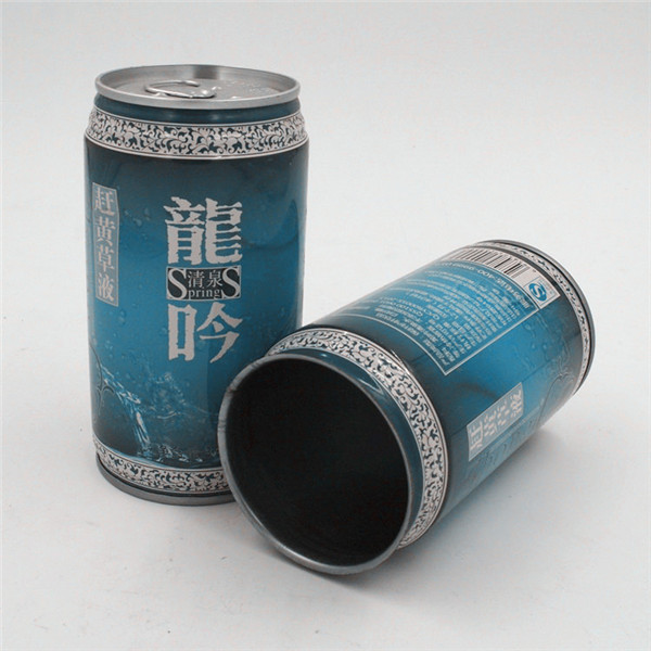 Metallic ring-pull tin can_330ml_for packaging fruit drinks